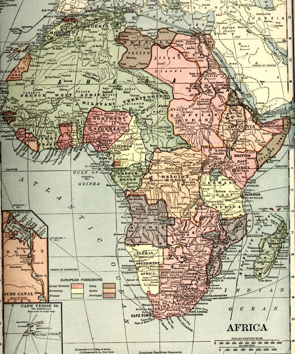 Africa1910s - Selbstbestimmungsrecht der Völker
