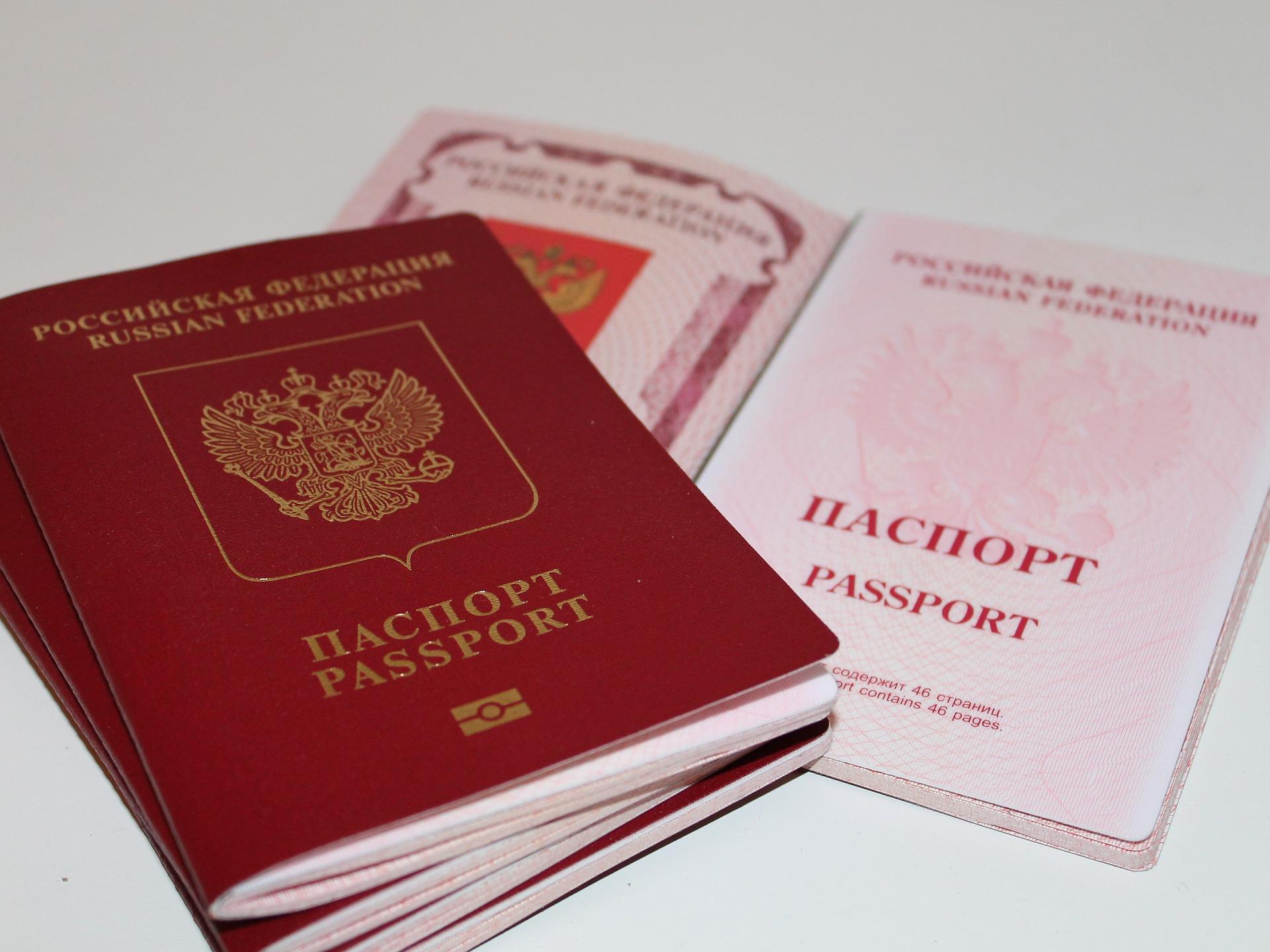 Russische Reisepässe